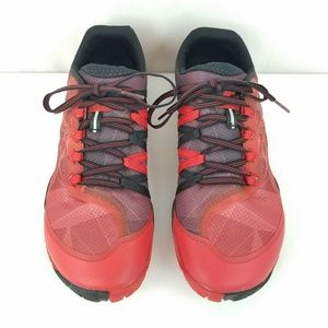 Merrell Mens Trail Glove 4 Runner Mesh Red Size 9
